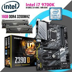 FIT Upgrade KIT (Intel i7 9700K, 16GB DDR4 3200 MHZ,Z390 s1151)
