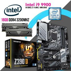 FIT Upgrade KIT (Intel i9 9900, 16GB DDR4 3200 MHZ,Z390 s1151)