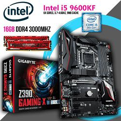 FIT Upgrade KIT (Intel i5 9600KF, 16GB DDR4 3000 MHZ,Z390 s1151)