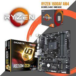 FIT Upgrade KIT (Ryzen 5 1600 AF + B350 AM4)