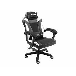 Fury Avenger M+, gaming stolica, crna/bijela NFF-1710