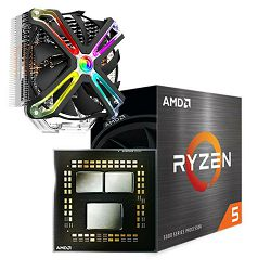 FuturaIT Combo (AMD Ryzen 5 5600X + 140MM  Zračno hlađenje)