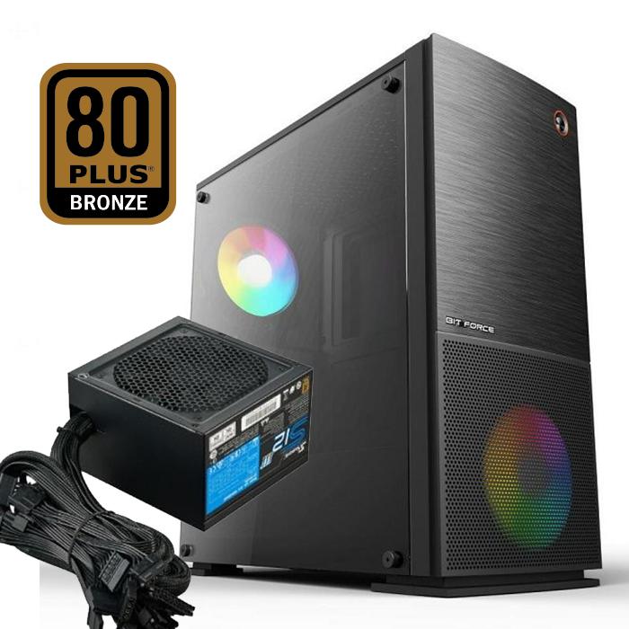 FuturaIT Combo (BIT FORCE ONYX AW-1 C2 + Seasonic SS-500GB  80+ Bronze)