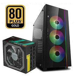 FuturaIT Combo (DeepCool Matrexx 55 V3 RGB + DeepCool DQ650-M 80+ Gold)