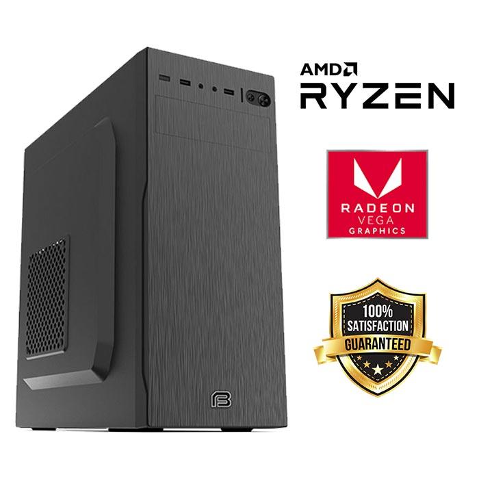FuturaIT Home/Multimedia PC (AMD Ryzen 3200G, 16GB RAM, SSD 480GB, AMD RX VEGA, 500W, Midi Case )