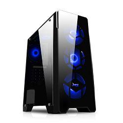 FuturaIT računalo Ryzen7Gamer (Ryzen 7 1700, Vodeno hlađenje, 16GB DDR4, 240GB SSD, 1TB HDD, GTX 1050Ti 4GB, 500W, noOS) + gaming slušalice
