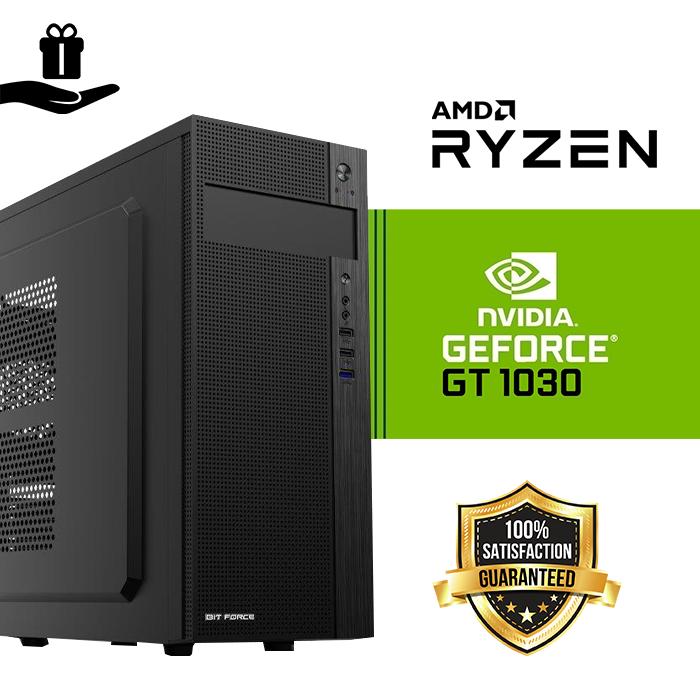 FuturaIT GALACTIC Gamer PC (AMD Ryzen 3 1200, 8GB DDR4, SSD 480GB, GT1030, 500W, Midi ATX ) Poklon