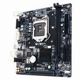 GIGABYTE Main Board Desktop INTEL H110 (Socket LGA1151, 2xDDR4, VGA/DVI-D, 1xPCIEX16/1xPCIEX1, USB3.0/USB2.0, 4xSATA III, LAN) mATX Retail
