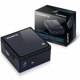 GIGABYTE BRIX kit Intel Braswell-M Celeron N3000, 1x DDR3L 1.35V SODIMM (max 8GB), 2.5
