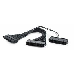 Dual 24-pin internal PC power extension cable, 0.3 m