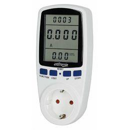 Gembird Smart energy meter, Shuko, 16 A