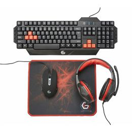 Gembird Ultimate 4-in-1 Gaming kit, US layout