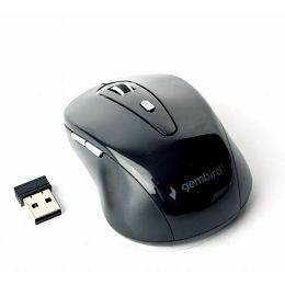 Gembird 6-button Wireless optical mouse, black
