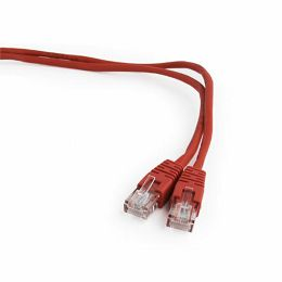 Gembird CAT5e UTP Patch cord, red, 0,25 m