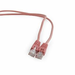 Gembird CAT5e UTP Patch cord, pink, 0,5 m