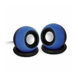 Gembird Stereo speaker 'Sphere', black blue