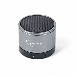 Gembird Bluetooth speaker, black and grey