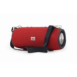 Gembird Bluetooth speaker with powerbank function, red