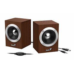 Genius zvučnici SP-HF280, 6W, USB+3,5mm, drveni 31730028400