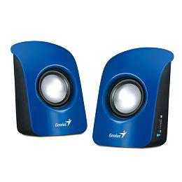 Genius zvučnici SP-U115, 1.5W, USB, plavi