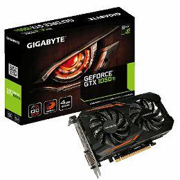 Gigabyte GF GTX1050 Ti OC, 4GB GDDR5