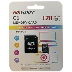 Hikvision microSDHC, Class10, 128GB + SD adapter HS-TF-C1(STD)/128G/Adapte