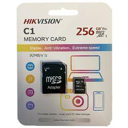 Hikvision microSDHC, Class10, 256GB + SD adapter HS-TF-C1(STD)/256G/Adapte