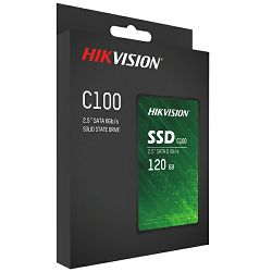 "Hikvision C100 SSD 120GB, 2,5"", R550/W420 HS-SSD-C100/120G"