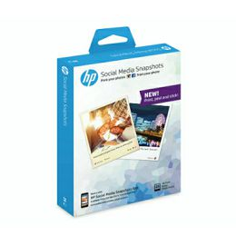 HP (SMS)Social Media Snapshots, 25 sheets, 10x13cm
