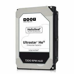HDD Server HGST Ultrastar HE12 (3.5'', 12TB, 256MB, 7200 RPM, SATA 6Gb/s, 4KN SE) SKU: 0F30143