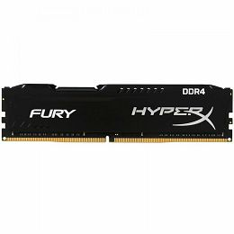 Kingston DRAM 8GB 3000MHz DDR4 CL15 DIMM 1Rx8 HyperX FURY Black EAN: 740617296532