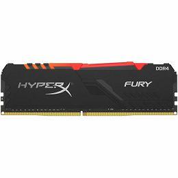Kingston DRAM 16GB 3200MHz DDR4 CL16 DIMM HyperX FURY RGB EAN: 740617296266