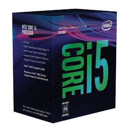 Intel Core i5 8400 2.8/4.0GHz,9MB,6C,LGA 1151