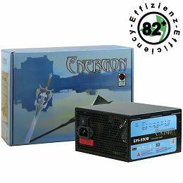 Power Supply INTER-TECH Energon EPS AC 220-240V, 50/60Hz, DC 3.3/5/±12V, 550W, Retail, Active PFC, 1x120, Efficiency 82%