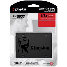 Kingston A400 120GB SSD, SATA
