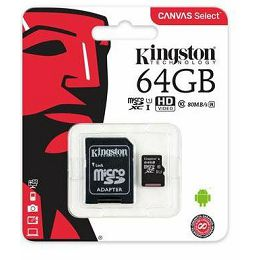 Kingston MicroSDXC Class10 64GB