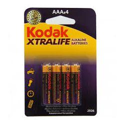 KODAK XTRALIFE ALKALINE AAA LR03 4X