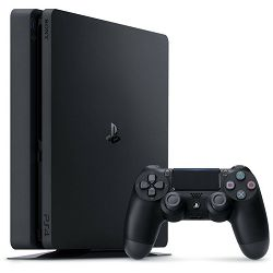 Konzola PlayStation 4 500GB Black + 2 HITS igre o izboru