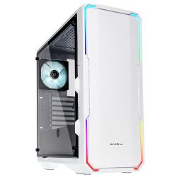 Kućište BitFenix Enso, MidiTower, RGB, TG, white, 2x120mm