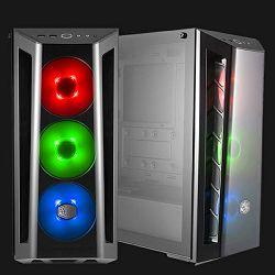 Kućište MidiTower CoolerMaster MasterBox MB520, RGB, 4x120mm