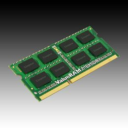 Kingston 4GB 1600MHz DDR3 Non-ECC CL11 SODIMM SR X8, EAN: 740617207781