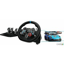 G29 Driving Force volan i papučice, crno-sivi