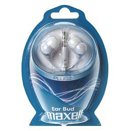 Maxell Plugz in-ear slušalice, bijele