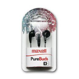 Maxell Purebudz slušalice, crne, mikrofon