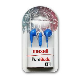 Maxell Purebudz slušalice, plave, mikrofon