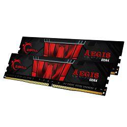 Memorija GSkill Aegis 16GB (2x8) DDR4 3000MHz