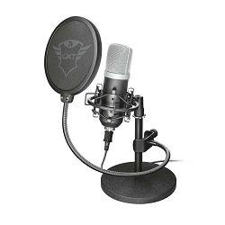 Mikrofon TRUST GXT 252 Emita, streaming, stolni, crni