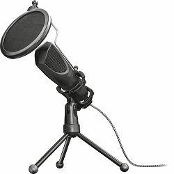 Mikrofon TRUST GXT232 Mantis, streaming, USB, crni (22656)