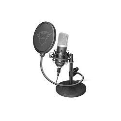 Mikrofon TRUST GXT252 Emita, profesionalni studijski, USB, crni (21753)