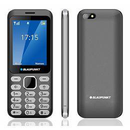 Mobitel Blaupunkt FL02, Dual SIM, sivi
